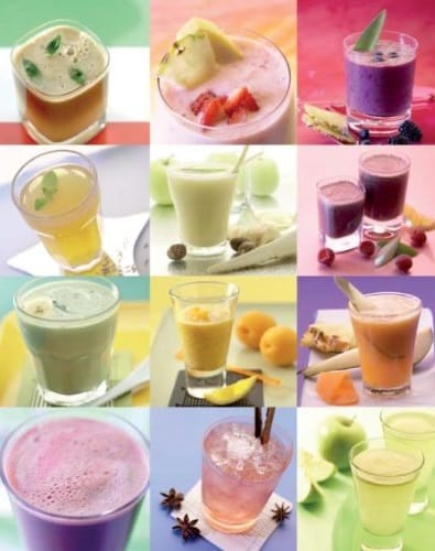 The Big Book of Juices Smoothie Collage