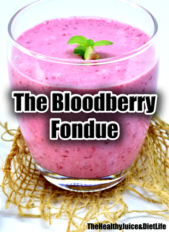 Healthy Smoothie Recipe - Bloodberry Fondue