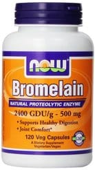 Bromelain Natural Proteolytic Enzyme Supplement