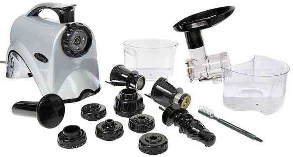 Dismantled Masticating Juicer