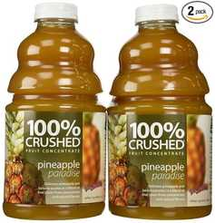 100% Crushed Pineapple juice fruit concentrate
